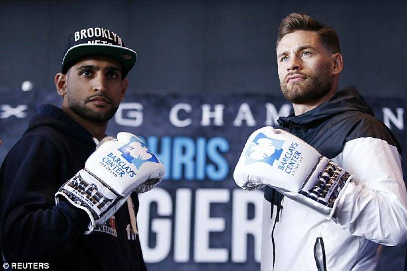 Chris Algieri Amir Khan