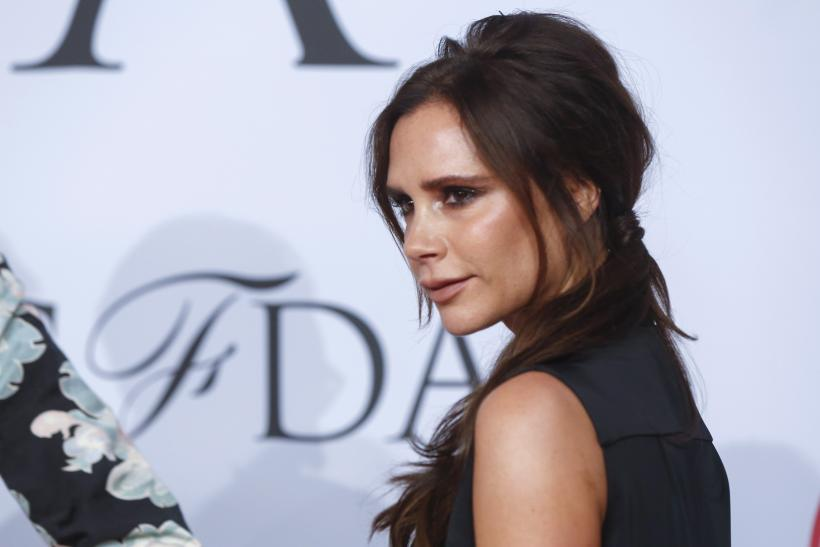 [9:12] Designer Victoria Beckham arrives for the 2015 CFDA Fashion Awards in New York