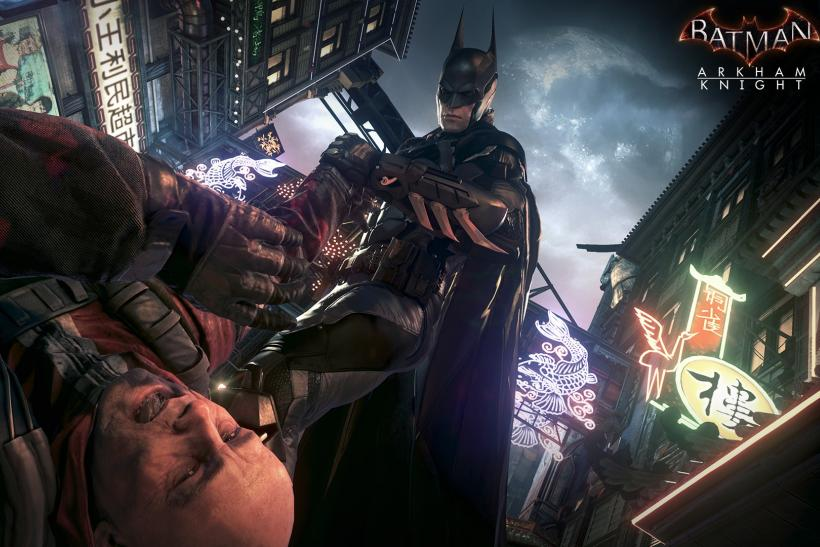 Arkham Knight Gameplay
