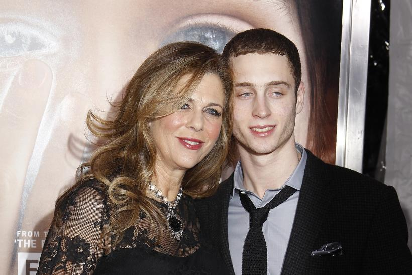 Tom Hanks' son Chester Haze with his mom