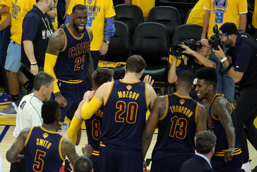 Cleveland Cavaliers Warriors