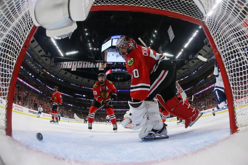 Corey Crawford Blackhawks 2015