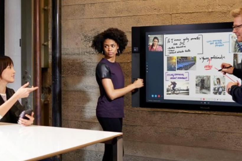 Microsoft surface hub picture