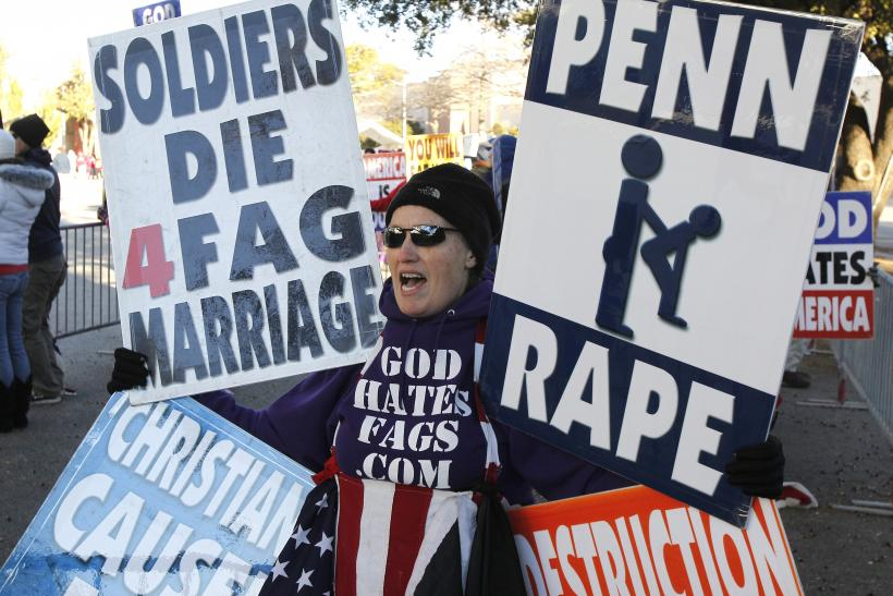 Statement about Westboro Baptist Church