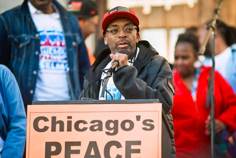 spike lee protest