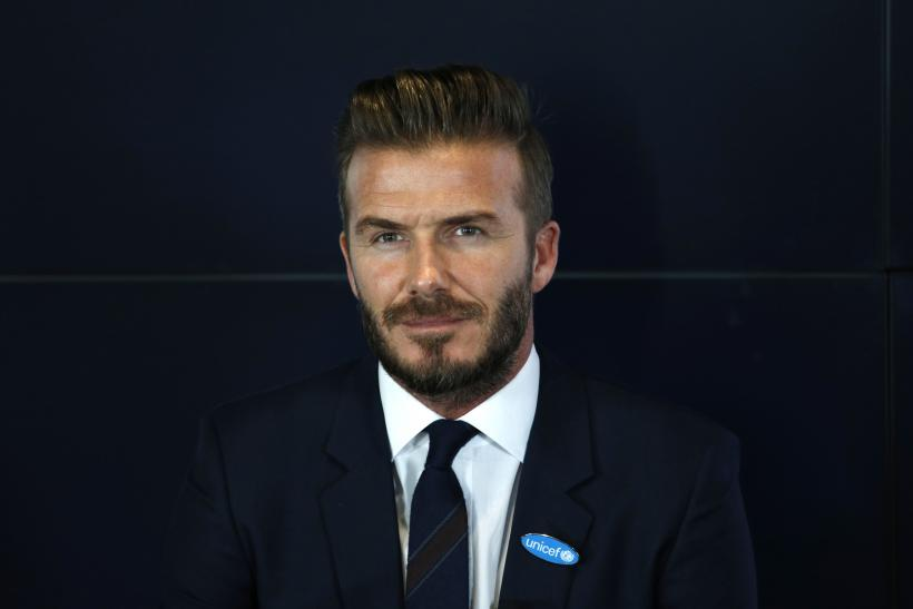 [12:41] David Beckham attends a press conference to mark his 10 years as a UNICEF Goodwill Ambassador