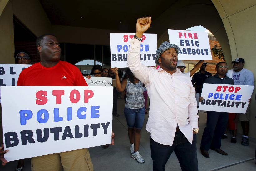 Police brutality protest
