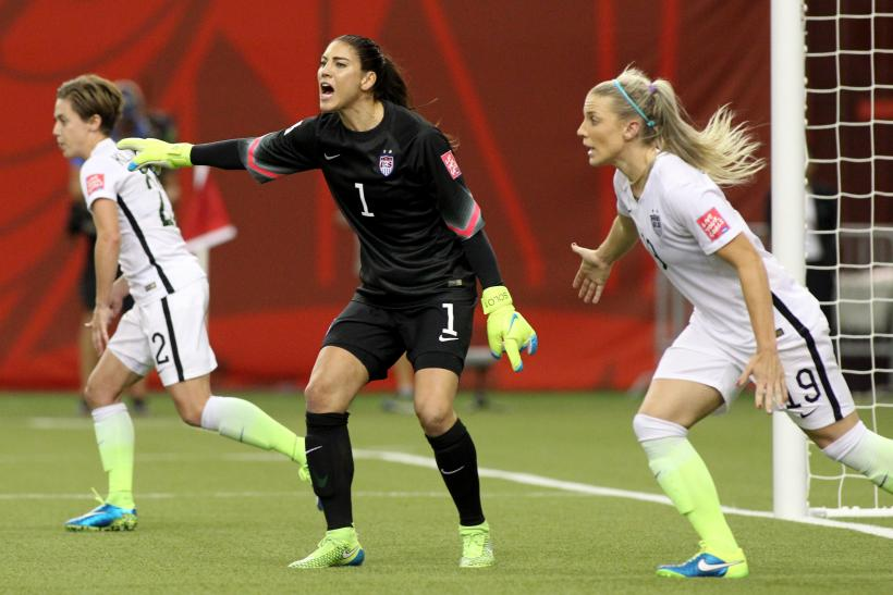 Hope Solo USA Women's Cup 2015
