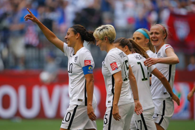 Carli Lloyd USA World Cup 2015