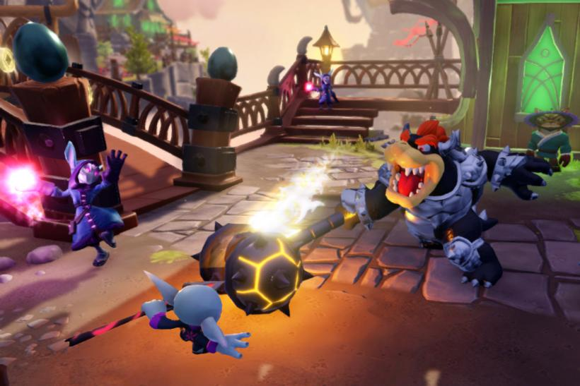 Dark Hammer Slamming Bowser/Skylanders: Super Chargers Dark Edition