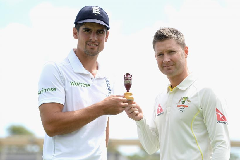 Alastair Cook, Michael Clarke, Ashes Cricket