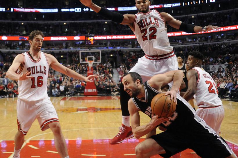 Manu Ginobili vs. Bulls in 2015