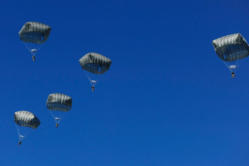 U.S Paratroopers, July 8, 2015