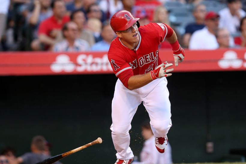 Mike Trout Angels 2015