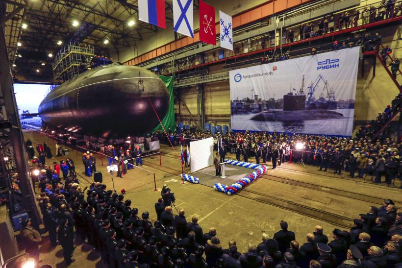Russia is strengthening its submarine presence in the Black Sea