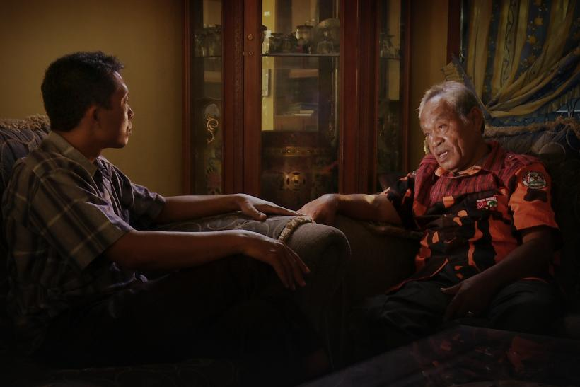 a review of the documentary the act of killing Joshua oppenheimer's stunning, surreal documentary asks unrepentant perpetrators of the 1965 indonesian genocide to recreate their actions for the camera the result is a history lesson, a .