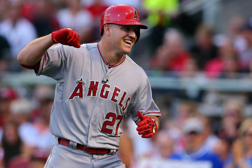 Mike Trout LA Angels