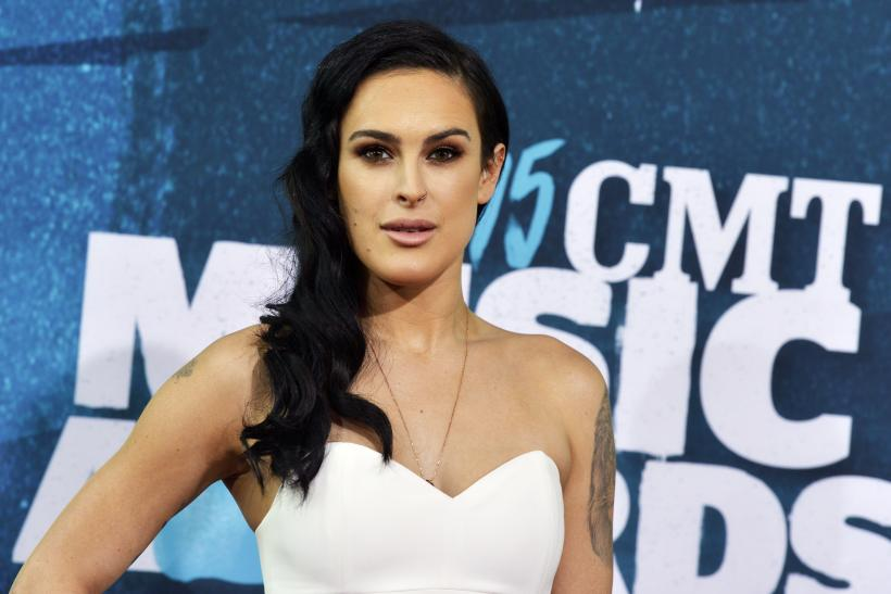 [11:32] Rumer Willis arrives at the 2015 CMT Awards in Nashville, Tennessee