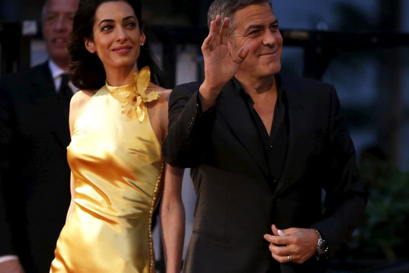 [11:30] George and Amal Clooney