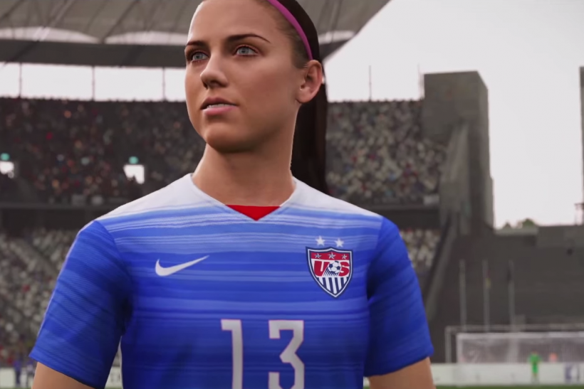 FIFA 16 Alex Morgan