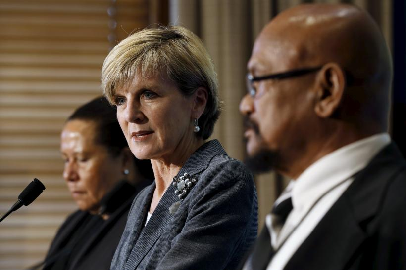 Australian foreign minister Julie Bishop MH17