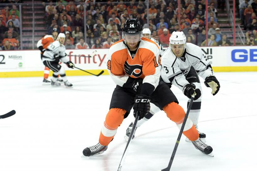 Philadelphia Flyers center Sean Couturier