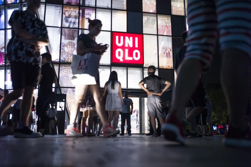 Uniqlo store sex video