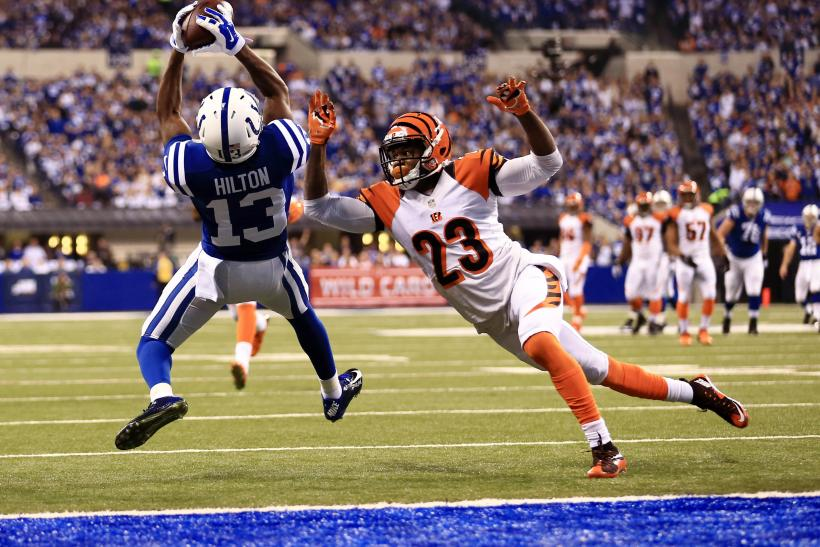 Indianapolis Colts wide receiver T.Y. Hilton