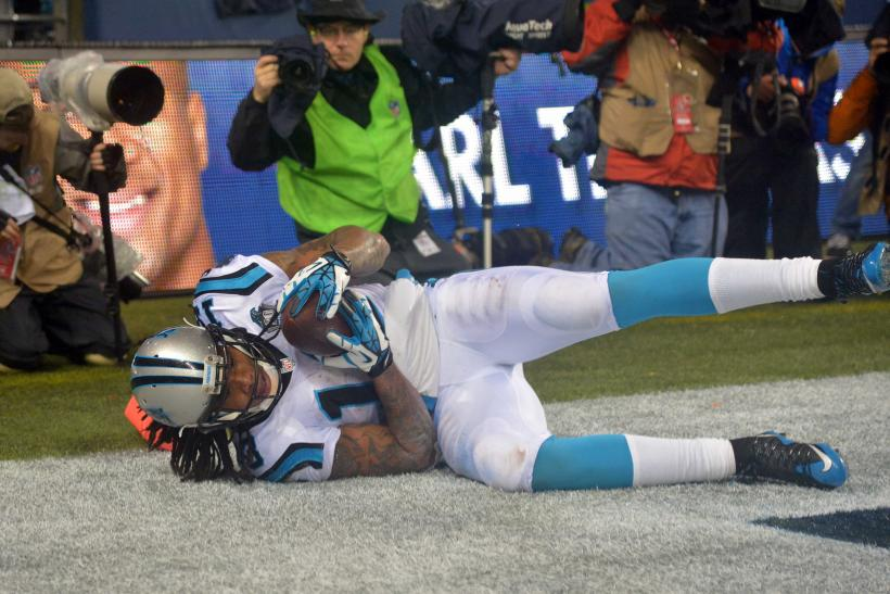 Carolina Panthers wide receiver Kelvin Benjamin