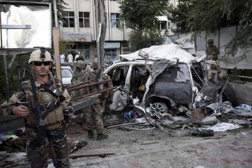 Bomb in Kabul kills up to 12