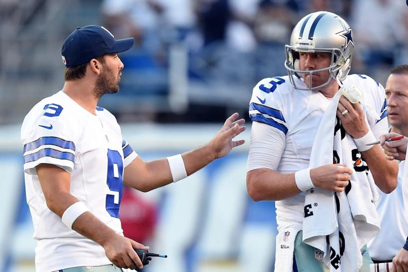 Tony Romo Brandon Weeden