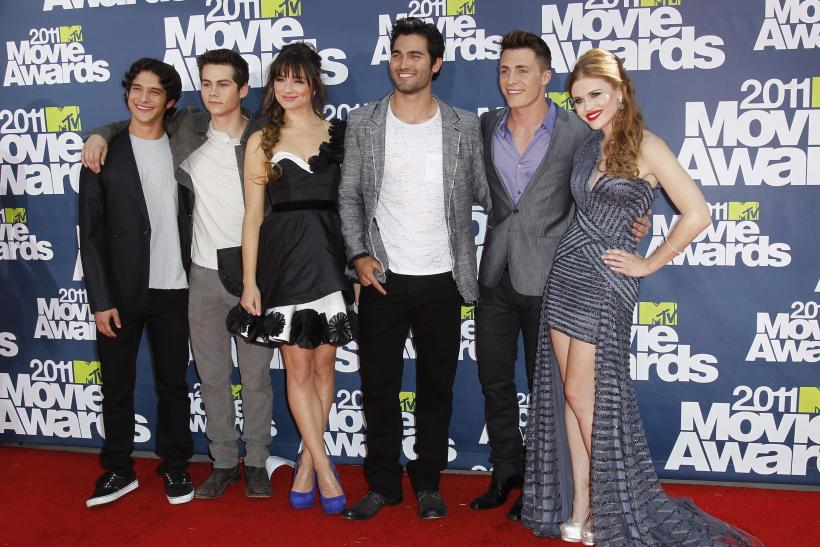 Teen Wolf cast during 2011 MTV Movie Awards