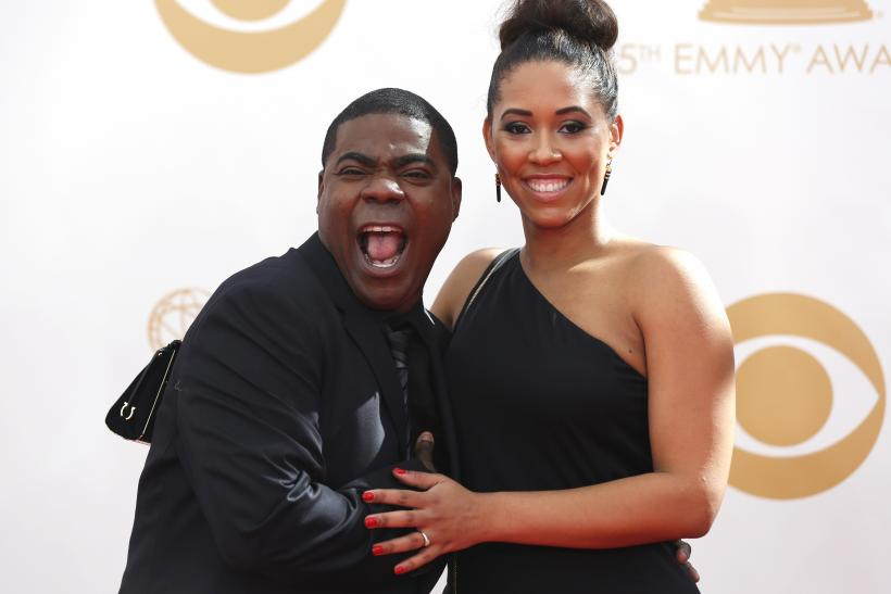 [9:21] Actor Tracy Morgan and fiancee Megan Wollover