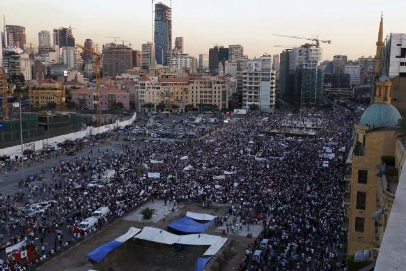 Beirut protest Aug 29