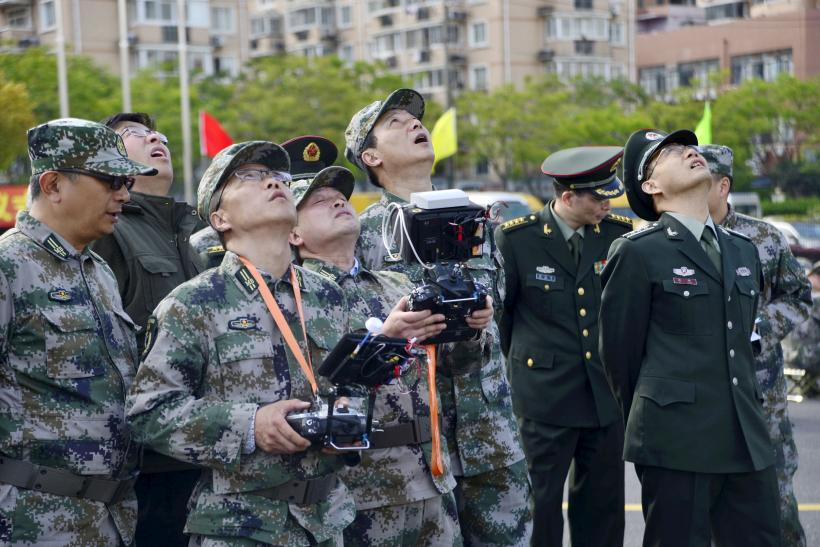 china drone operate