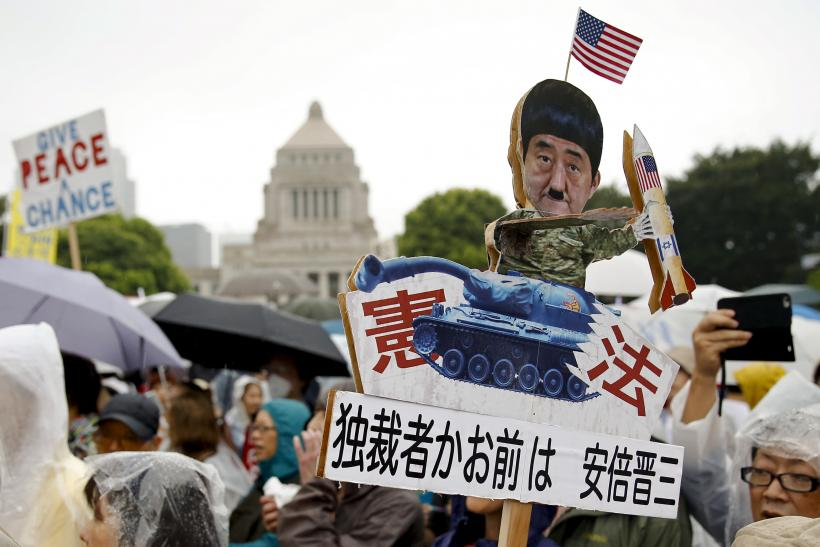 japan security protest