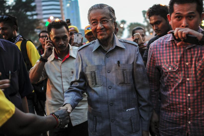 Former Malaysian Prime Minister Mahathir Mohamad
