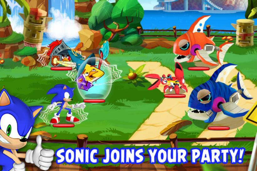 Sonic Angry Birds Epic
