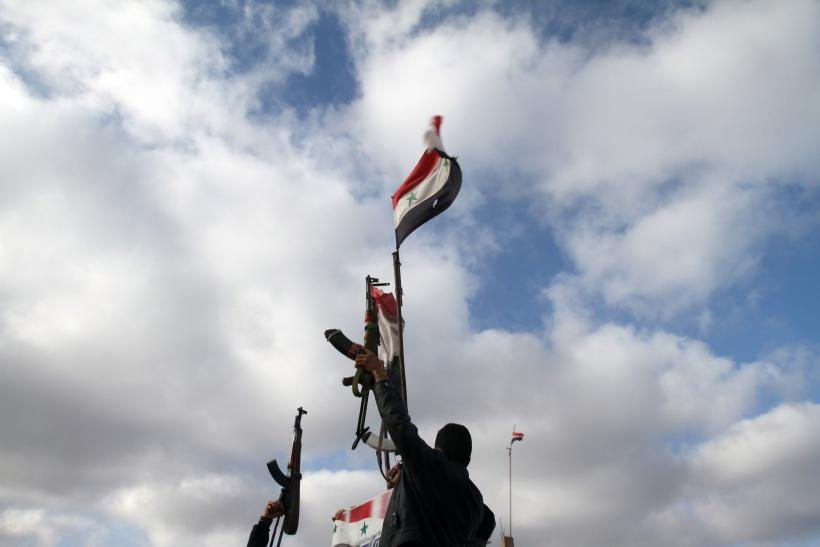 Syrian Soldiers In Sweida Jan. 23, 2013