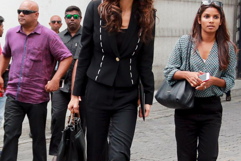 [12:48] Amal Clooney, lawyer of former Maldives president Mohamed Nasheed arrives at the High Court in Male