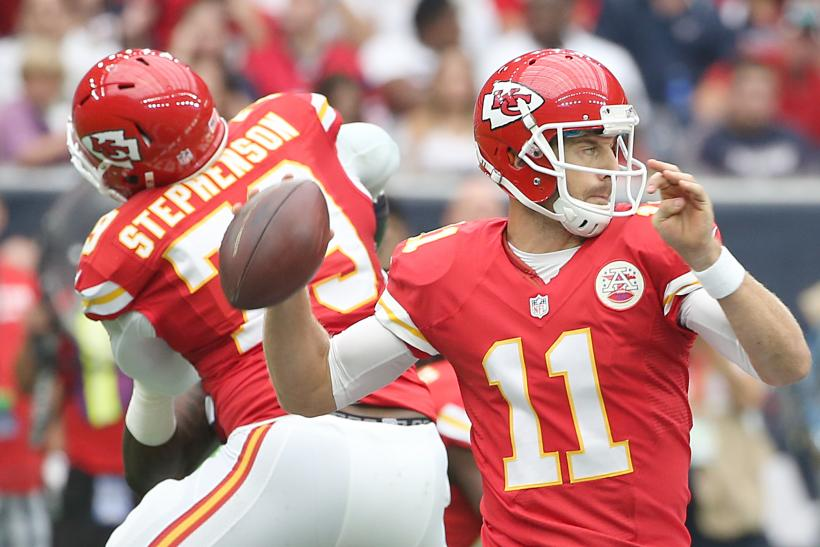Alex Smith Chiefs 2015