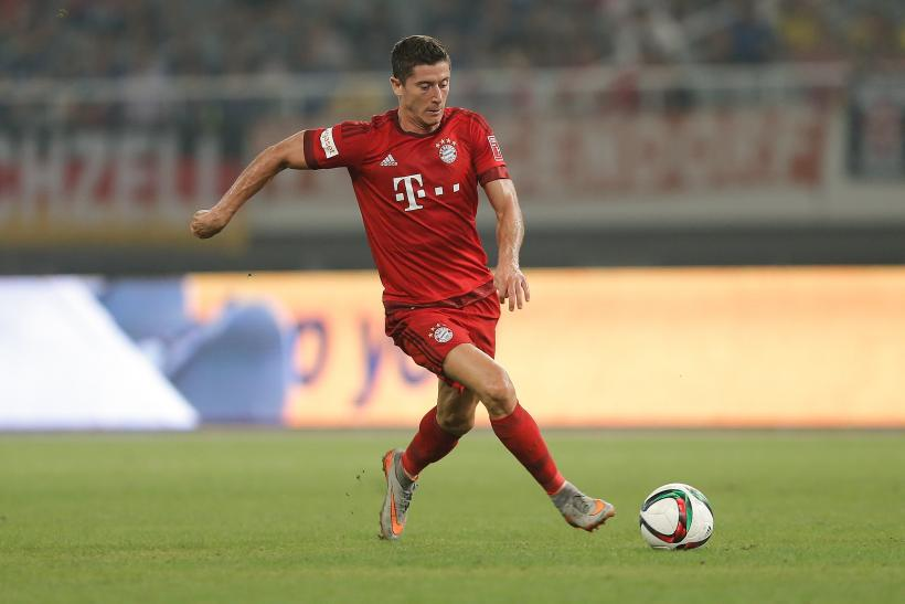 Robert Lewandowski Bayern Munich 2015