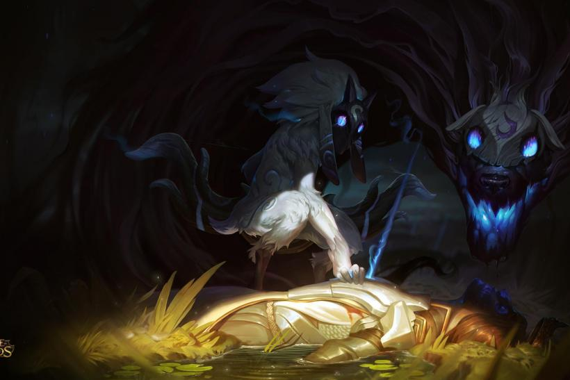 League of Legends Kindred Champion