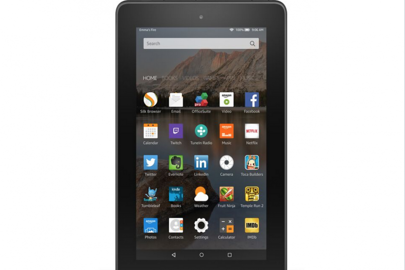 Amazon $50 Fire Tablet