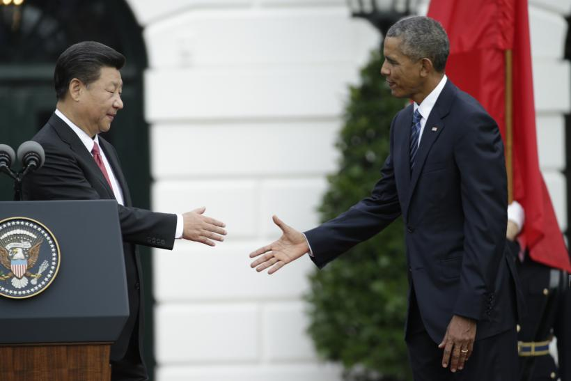 Obama, Xi meeting White House