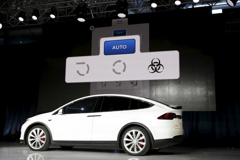 Elon Musk Says Tesla Model X Will Protect You From Bioweapons