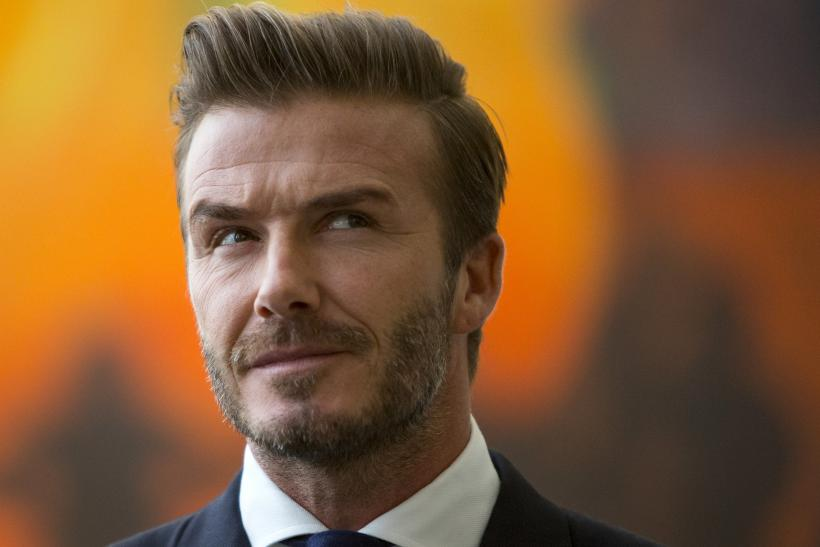 [10:12] David Beckham stands at the unveiling of a digital installation titled 'Assembly of Youth'