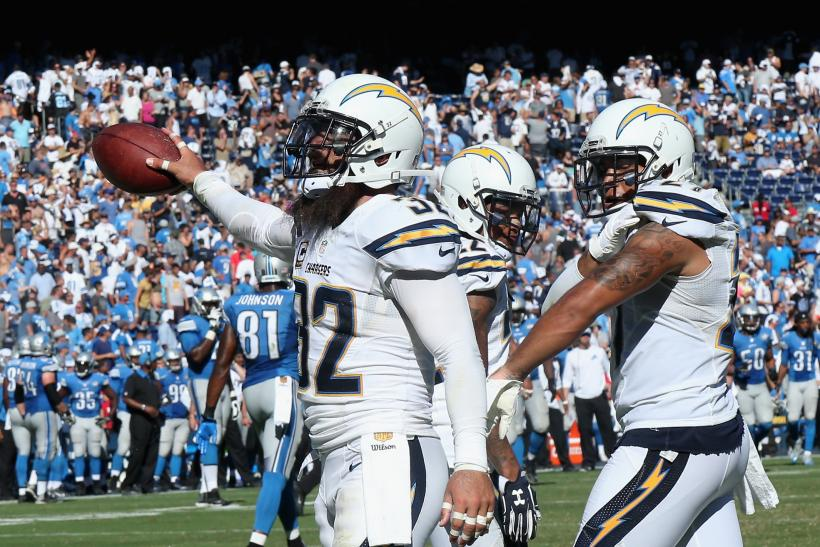 Eric Weddle Chargers 2015