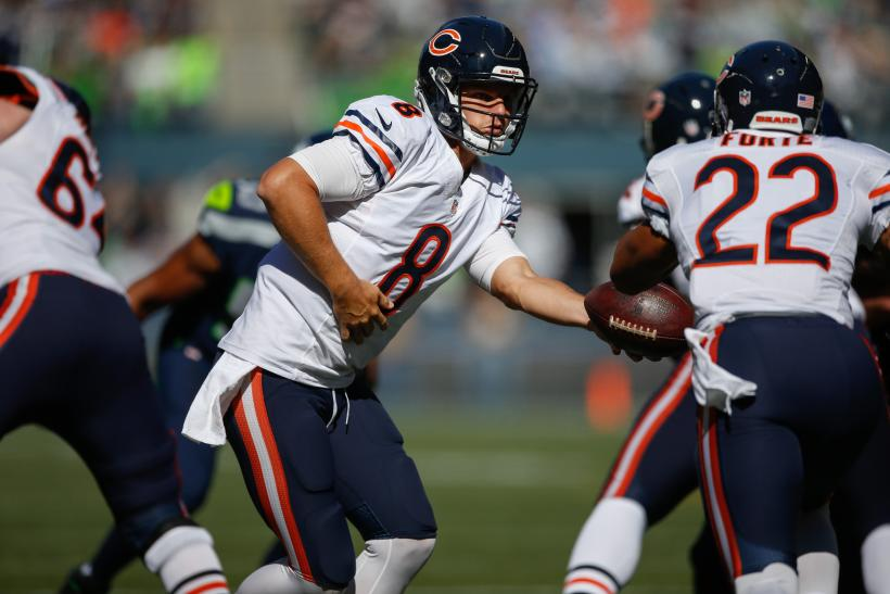 Jimmy Clausen Chicago Bears