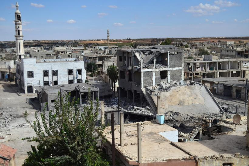 Syria airstrikes aftermath